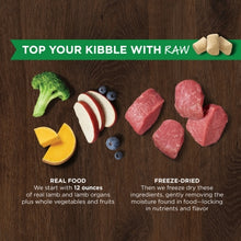 Load image into Gallery viewer, NATURES VARIETY FREEZE DRIED RAW BOOST MIXER LAMB DOG 156G