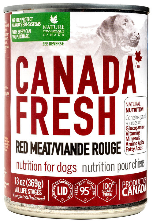 PETKIND CANADA FRESH RED MEAT DOG CAN 369G