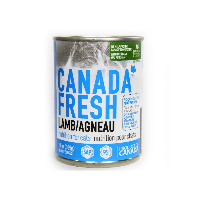 PETKIND CANADA FRESH LAMB CAT CAN 369G