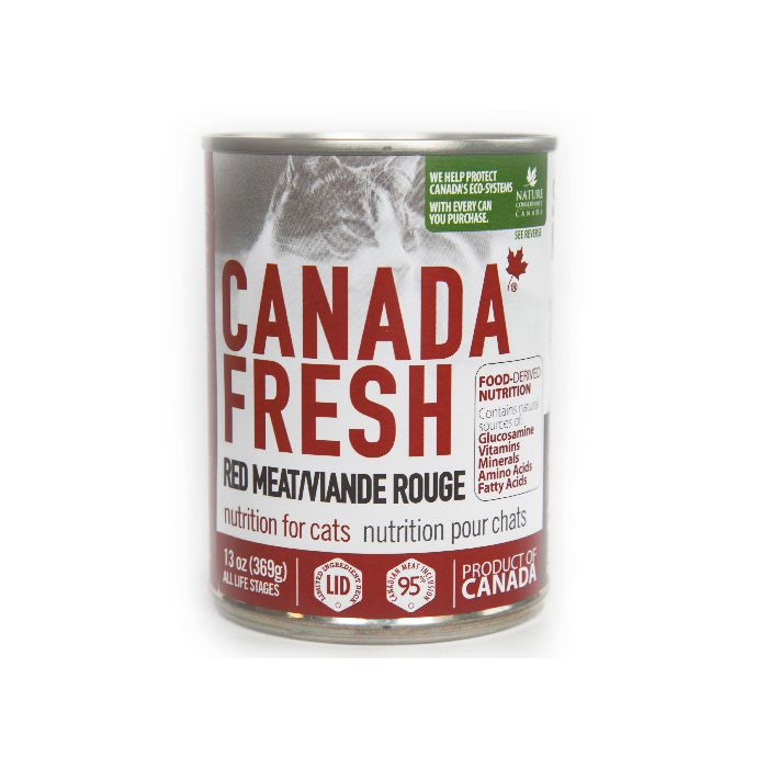 PETKIND CANADA FRESH RED MEAT CAT CAN 369G