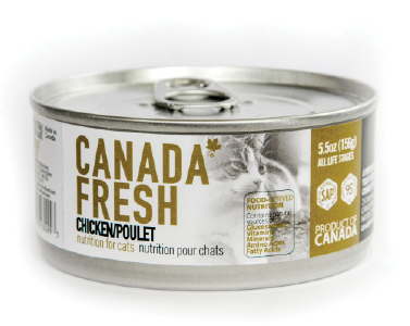 PETKIND CANADA FRESH CHICKEN CAT CAN 156G