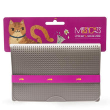 Load image into Gallery viewer, MESSY MUTTS SILICONE LITTER MAT GREY