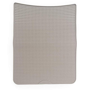 MESSY MUTTS SILICONE LITTER MAT GREY