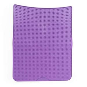 MESSY MUTTS SILICONE LITTER MAT PURPLE