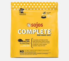 Load image into Gallery viewer, SOJOS COMPLETE BEEF 7LB