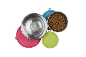 MESSY MUTTS RAW BOWL/COVER SET 6PC LG
