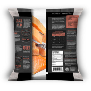 BIG COUNTRY RAW SALMON FILLETS 1LB