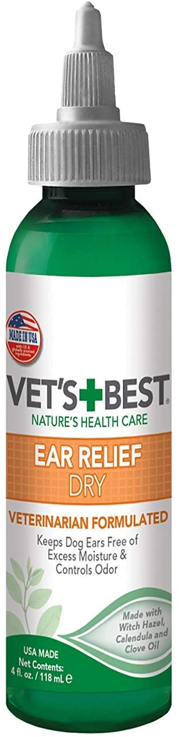 VETS BEST EAR RELIEF DRY 4OZ