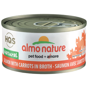 ALMO CAT NATURAL SALMON/CARROT 70G