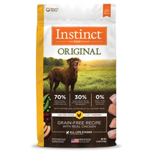 Load image into Gallery viewer, NATURES VARIETY INSTINCT CHICKEN DOG 10.2KG