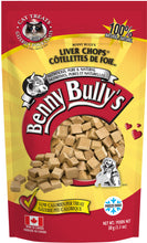 Load image into Gallery viewer, BENNY BULLYS LIVER CHOPS CAT TREAT 30G