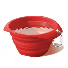 Load image into Gallery viewer, KURGO COLLAPS A BOWL RED