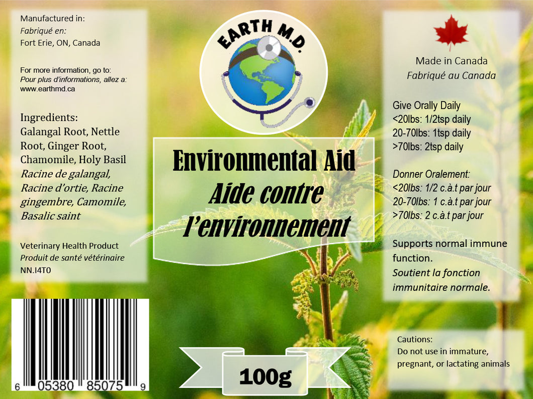 EARTH MD ENVIRONMENTAL AID 100G
