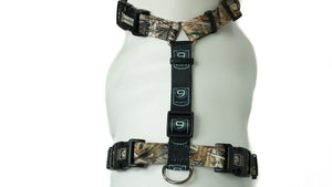 BLUE9 BALANCE HARNESS BUCKLE NECK CAMO SMALL