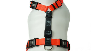 BLUE9 BALANCE HARNESS BUCKLE NECK ORANGE MEDIUM/LARGE