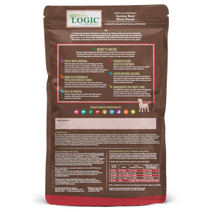 NATURES LOGIC BEEF DOG 4.4LB