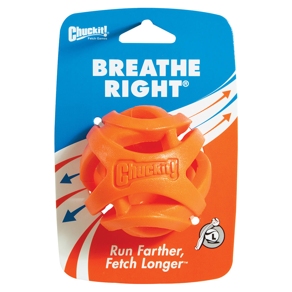 CHUCK IT BREATHE RIGHT BALL MED