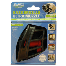 Load image into Gallery viewer, BASKERVILLE ULTRA MUZZLE BLACK SIZE 2