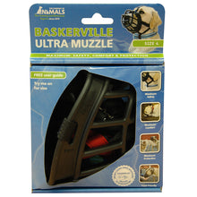Load image into Gallery viewer, BASKERVILLE ULTRA MUZZLE BLACK SIZE 4