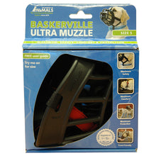Load image into Gallery viewer, BASKERVILLE ULTRA MUZZLE BLACK SIZE 5