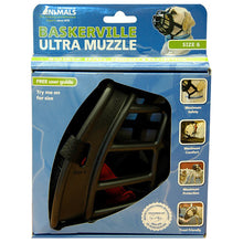 Load image into Gallery viewer, BASKERVILLE ULTRA MUZZLE BLACK SIZE 6