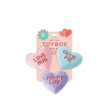Load image into Gallery viewer, FRINGE CONVERSATION HEARTS 3PK