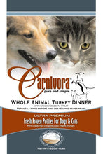 Load image into Gallery viewer, CARNIVORA TURKEY DINNER 4LB
