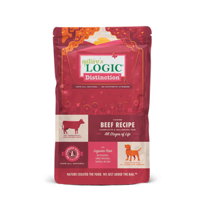 NATURES LOGIC DISTINCTION BEEF DOG 4.4LB
