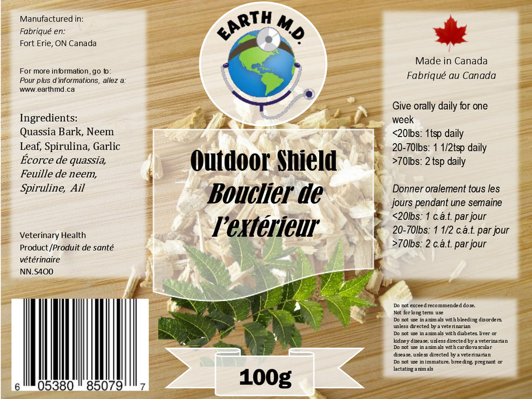 EARTH MD OUTDOOR SHIELD 100G