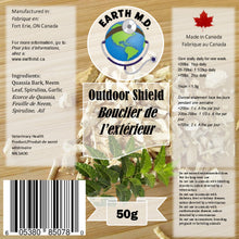 Load image into Gallery viewer, EARTH MD OUTDOOR SHIELD 50G