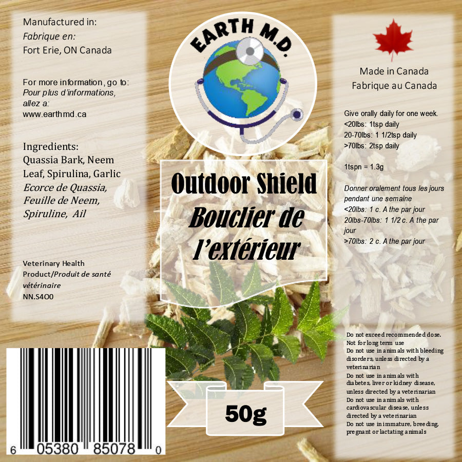 EARTH MD OUTDOOR SHIELD 50G