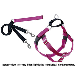 "2 HOUNDS DESIGN FREEDOM NO-PULL HARNESS/LEAD 5/8"" XSM"