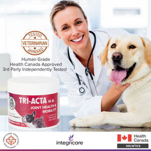 TRI-ACTA H.A DOG/CAT JOINT FORMULA MAXIMUM STRENGTH 60G
