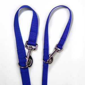 BLUE9 MULTI-FUNCTION LEASH BLUE MEDIUM/LARGE 6'X1""