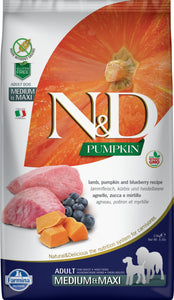 FARMINA PUMPKIN LAMB/BLUEBERRY DOG MED/MAXI 2.5KG
