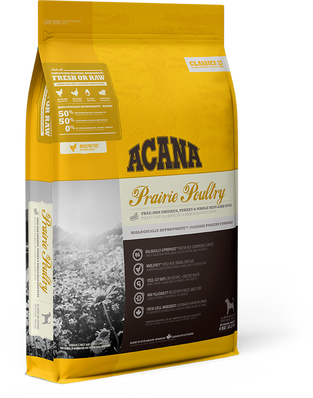ACANA CLASSIC PRAIRIE POULTRY DOG 6KG