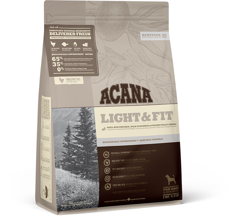 ACANA LIGHT & FIT DOG 2KG