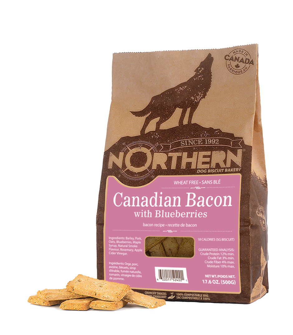 NORTHERN BISCUIT CANADIAN BACON/BLUEBERRY 500G