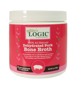 NATURE'S LOGIC BONE BROTH POWDER PORK 6OZ