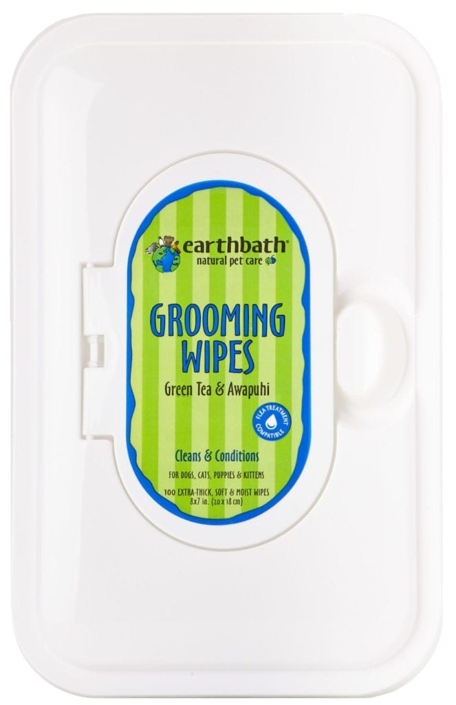 EARTHBATH GREEN TEA WIPES 100CT