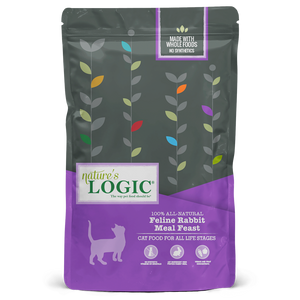 NATURES LOGIC RABBIT CAT 3.3LB