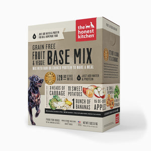 HONEST KITCHEN BASE MIX GRAIN FREE FRUIT/VEGGIE 7LB