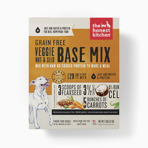 HONEST KITCHEN BASE MIX GRAIN FREE VEGGIE/NUT/SEED 7LB