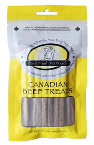 FARM FRESH BEEF STICK TREATS 100G