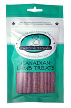 Load image into Gallery viewer, FARM FRESH LAMB STICK TREATS 100G