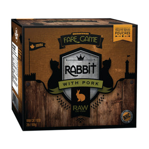 BIG COUNTRY RAW FARE GAME CAT RABBIT/PORK 2LB