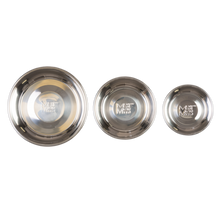Load image into Gallery viewer, MESSY MUTTS STAINLESS STEEL RAW BOWL XLG