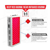 1000W Full Body Red Light Therapy Panel
