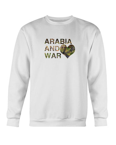 Sudadera - Arabia and War