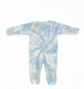 Blue & Green Baby Onesie